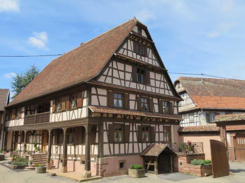 Prix « architecture et patrimoine » pour le corps de ferme de Schnersheim