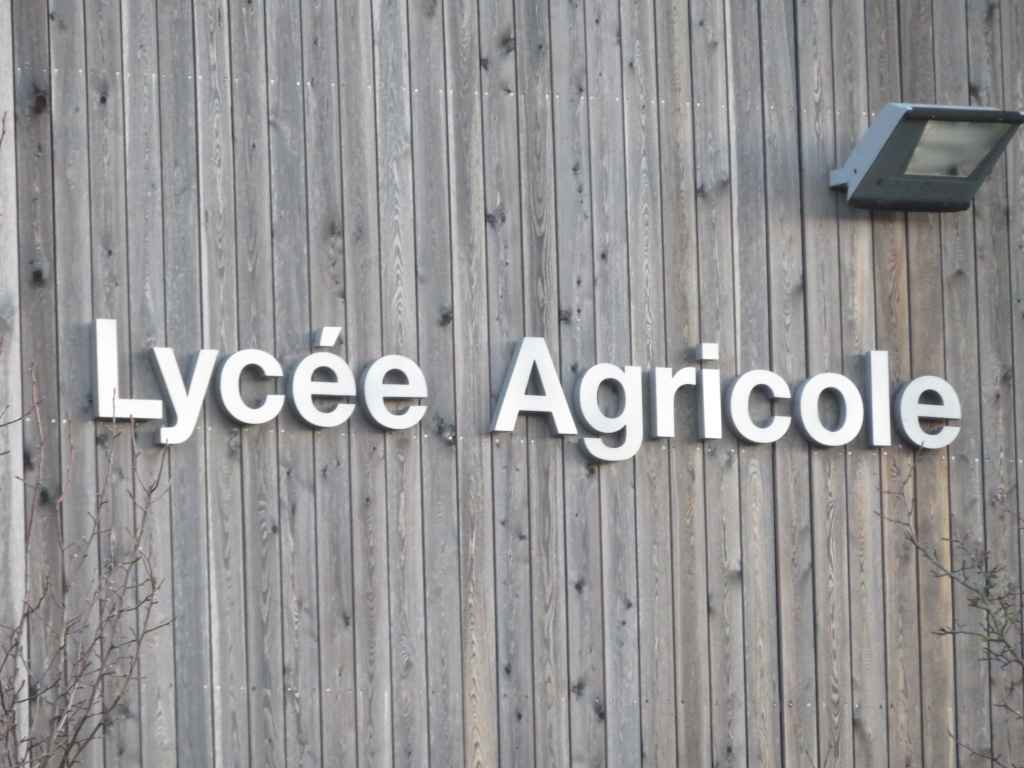 Intervention au Lycée Agricole d'Obernai