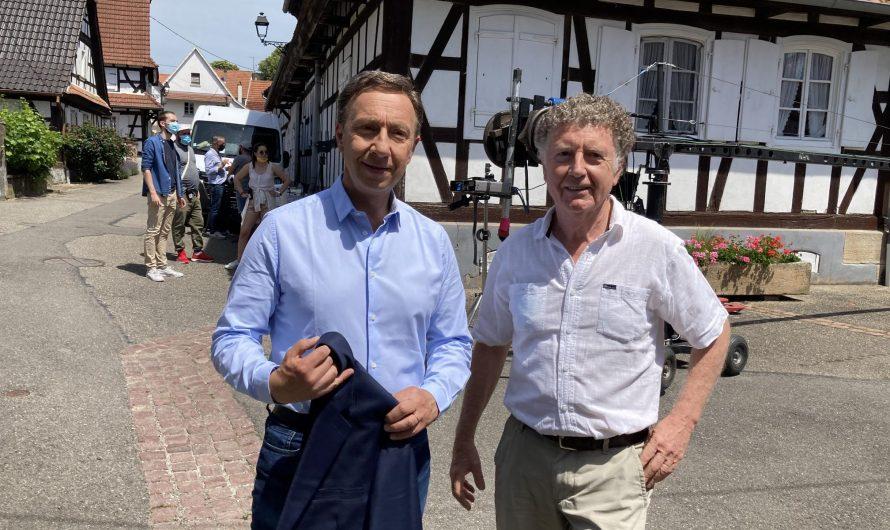 Rencontre avec Stéphane Bern à Hunspach